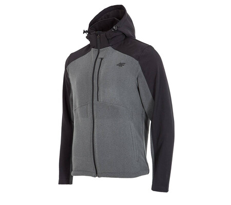 Hanorac barbatesc 4f Softshell Grey